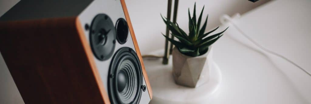 Image of home speakers