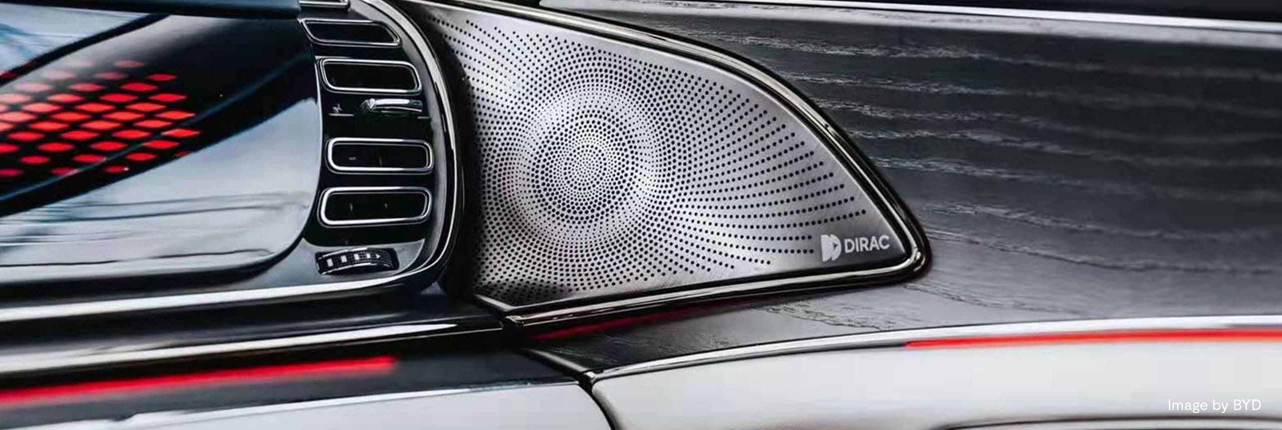 Automotive Dirac audio, Image by BYD
