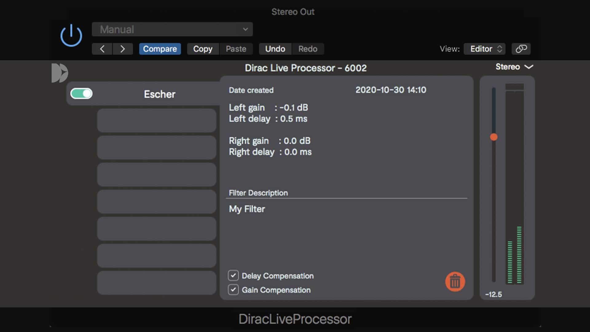 Dirac Live Studio audio DAW Plugin and systemwide